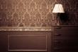 Vintage room interior toned image - 62673552