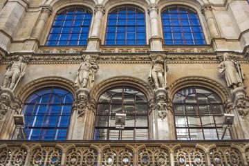 Vienna, Austria. Typical architectural details