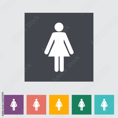 Female gender sign