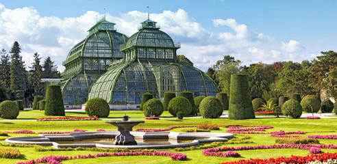 Palmenhaus at the imperial Garden of Schönbrunn in Vienna