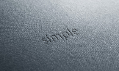 jeans text simple