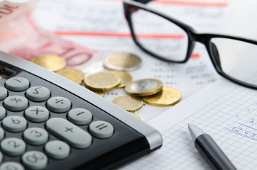 Kalkulation der Ausgaben