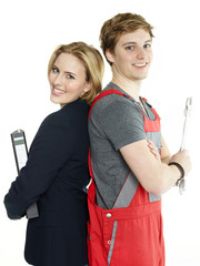Apprentices for car mechanic and office