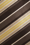 Diagonal line on a piece of fabric poster