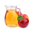 Apple juice drinks