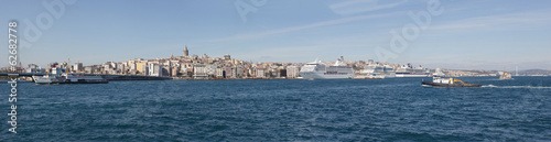 panoramic view on Istanbul, Turkey