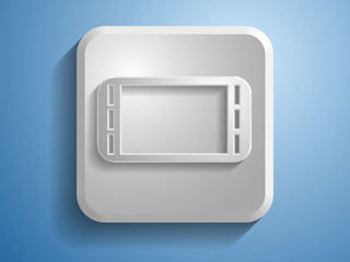 3d Vector icon of gamepad icon