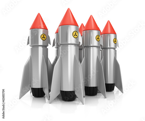 Group of nuclear missiles