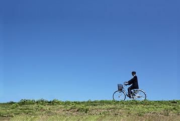 高校生の自転車通学