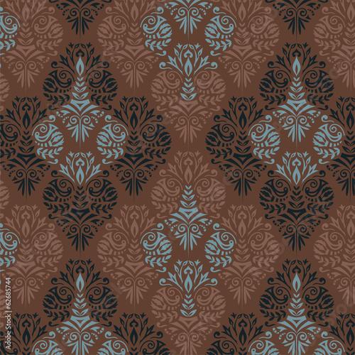 Damask pattern - 62685744