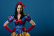 Obrazy na płótnie, fototapety, zdjęcia, fotoobrazy drukowane : Snow white unhappy