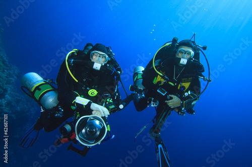 Poster Duiken Technical Scuba Divers