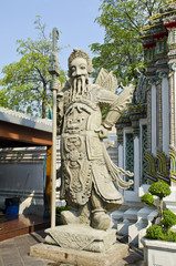 Chinese Style Statue