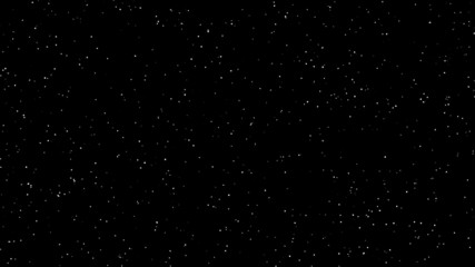 Blinking stars animation