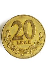 Albanian lek Albania money albanés Albanischer  ليك ألباني