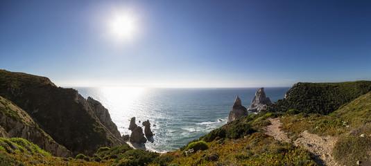 Portugal, Blick auf Praia da Ursa