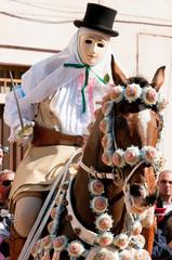 Sartiglia festival (Oristano, Sardinia)