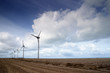 Frankreich, Windmühle im Feld