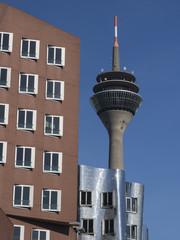 Deutschland, Düsseldorf, Ansicht Rheinturm