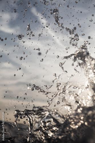 Kroatien, Mittelmeer, Ozean, Wasser spritzen