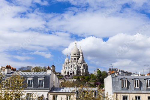Paris, FranceView of Montmartre and Sakre-Ker