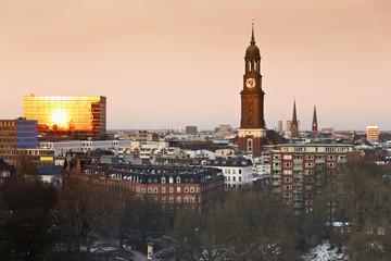 Deutschland, Hamburg, Blick auf das Stadtleben