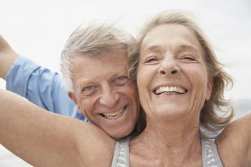 Spanien, Senior Paar Portrait