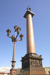 Александрийский столп на дворцовой площади