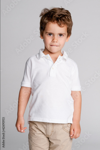Toddler Boy Studio Portrait