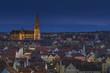 Deutschland, Bayern, Regensburg, Ansicht der Regensburger Dom bei Nacht