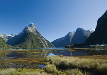 Neuseeland, Ansicht von Milford Sound