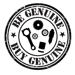 Be genuine buy genuine stamp