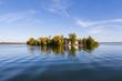 Deutschland, Bayern, Oberbayern, Chiemgau, Blick auf Frauenchiemsee Insel