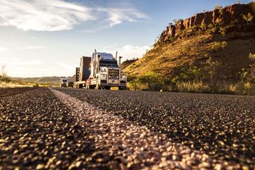 Australien, Australian Truck auf der Straße