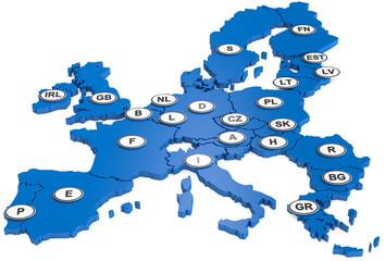 EU Länderkennziffer
