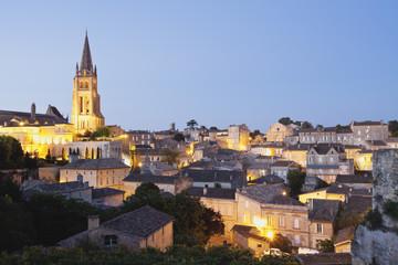 Frankreich, Ansicht von Saint- Emilion