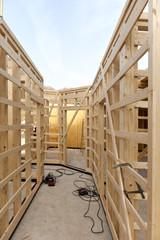 Deutschland, Rheinland Pfalz die, Construction Rahmen des Wohnungsbaus