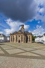 Deutschland, Saarland, Blick auf St. -Ludwigs- Kirche