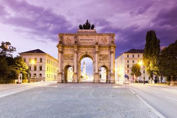 Deutschland, Bayern, München, Siegestor