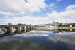 Frankreich, Ansicht von Jacques Gabriel Brücke und Saint Louis Kathedrale