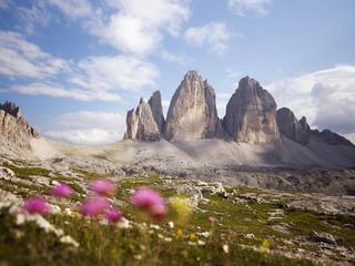 Italien, Ansicht der Nationalpark Sextner Dolomiten