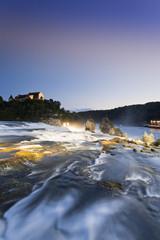 Schweiz, Schaffhausen, Ansicht der Rheinfall bei Schaffhausen