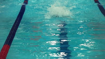 sports swimming Butterfly stroke