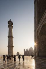 Indien, Uttar Pradesh, Agra, Ansicht der Taj Mahal