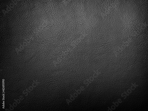 Fotobehang Stof black leather background