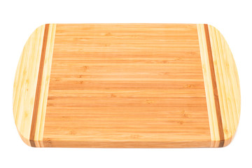a bamboo cutting board