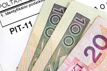 Polish income tax. PIT- 11