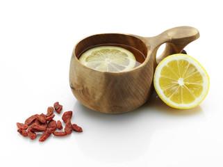 tea and goji