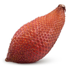 Salak snake fruit isolated on white with clipping path