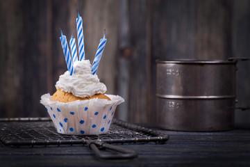 Muffin zum Geburtstag